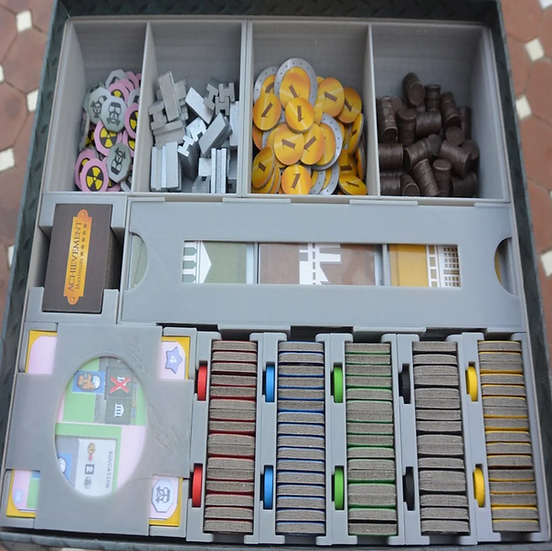The Manhattan Project: Energy Empire Insert / box organizer with individual play