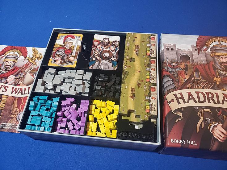 Hadrian's Wall insert / board game box organizer