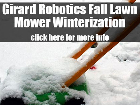 Fall Lawn Mower Winterization