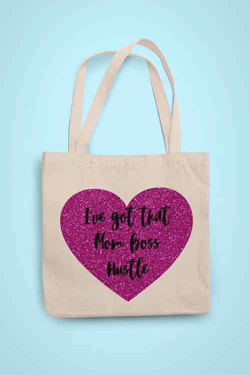 Mom Boss Hustle - Tote Bag