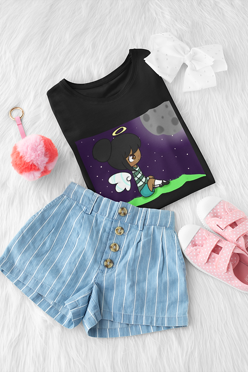 Kids Short Sleeve T-Shirt - Moonlight