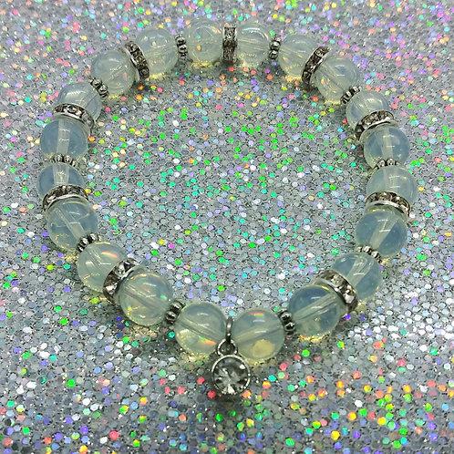 Opal Charm Bracelet