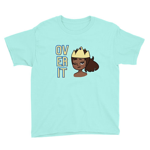 Over It - Youth Short Sleeve T-Shirt