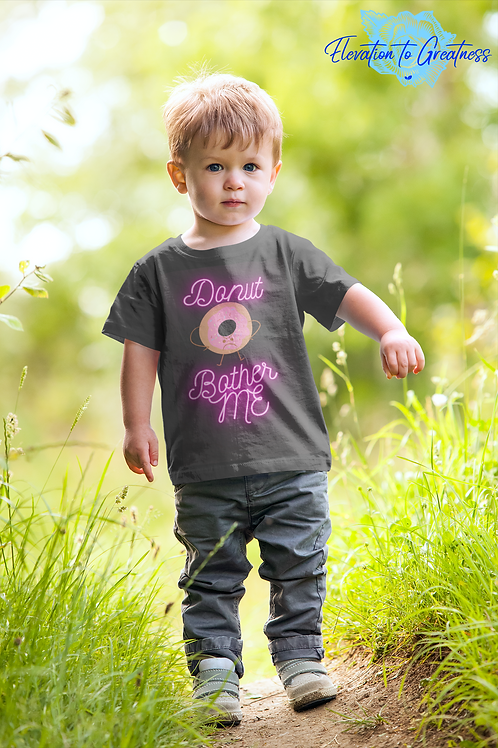 Kids Short Sleeve T-Shirt - Donut Bother Me