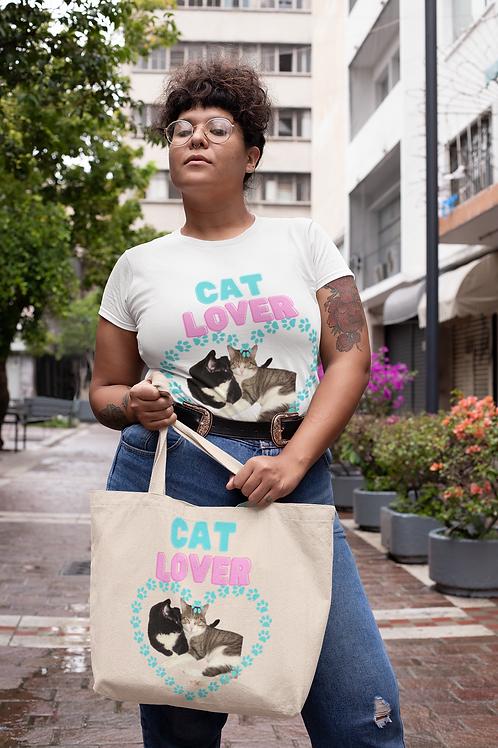 Cat Lover- Short Sleeve T-shirt