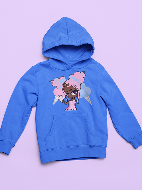 Cotton Candy- Kids Hoodie