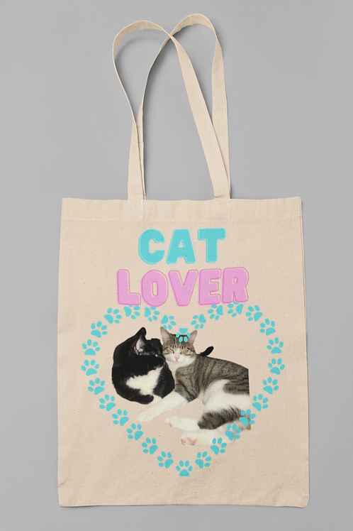 Cat Lover- Tote Bag