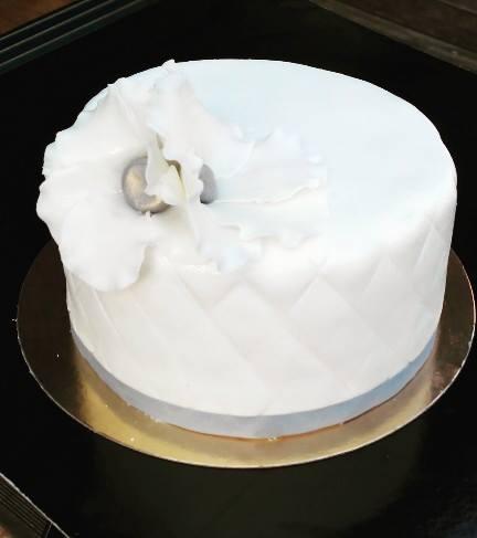 Wedding Cake Blanc & Gris 3
