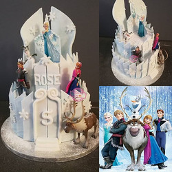 Wedding Cake Frozen ❄️❄️_Happppppppppppy