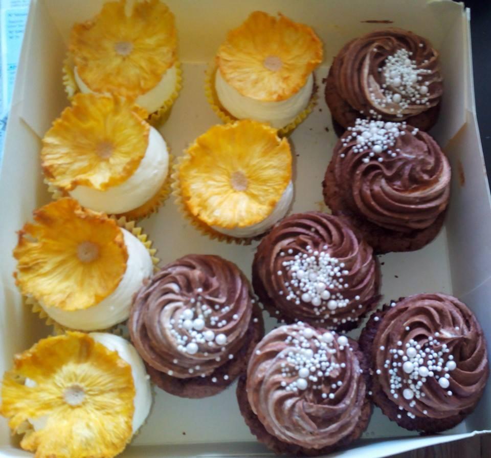 Cupcakes Fruit de la Passion & Chocolat