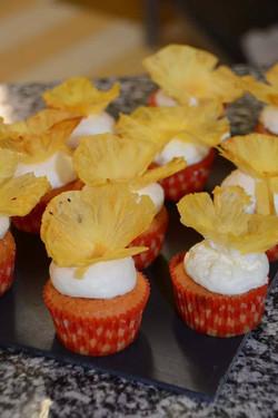 Cupcakes Fruit de la Passion & Ananas