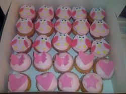 Cupcakes_Thème_Hibou