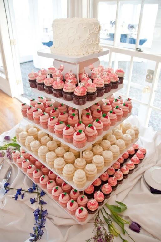 Tower Wedding & Cupcakes