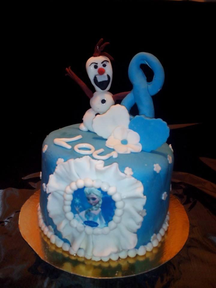 Wedding Cake Reine des Neiges 1