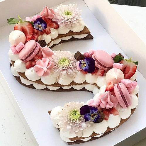Letter Cake( Deux lettres )
