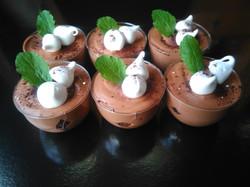 Verrines Mousse Chocolat