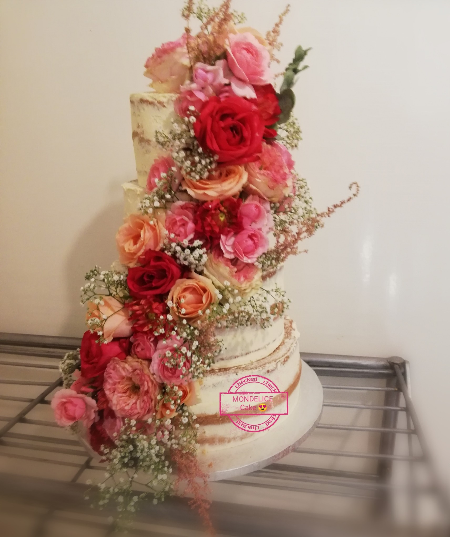 Layer Cakes flowers