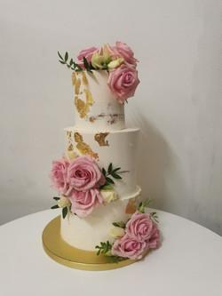 Layer cake rose rose