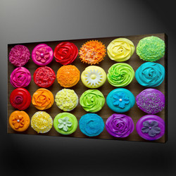 Cupcakes color