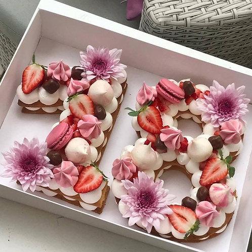 Number Cake ( Deux Chiffres )