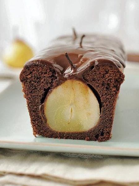Cake Chocolat poire