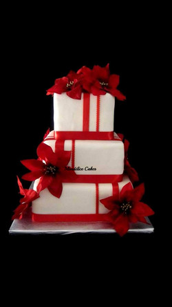 Cake Rouge et Blanc
