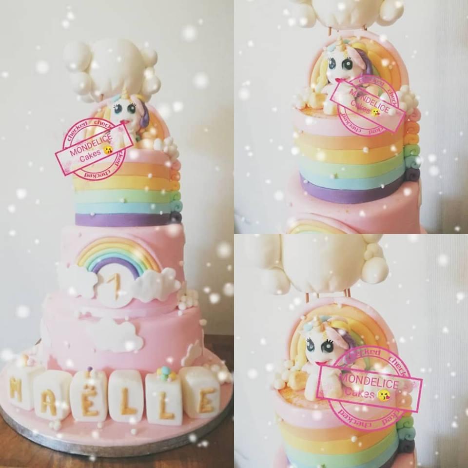Cake Licorne