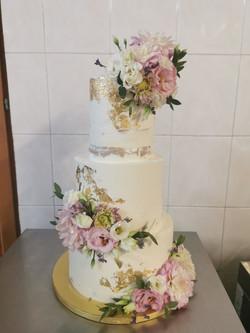 Layer cake Lilas