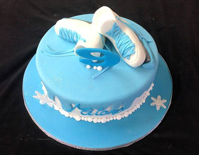 Wedding Cake Thème Patinage