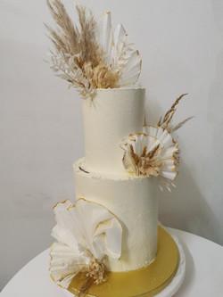 Layer cake fleurs séchées