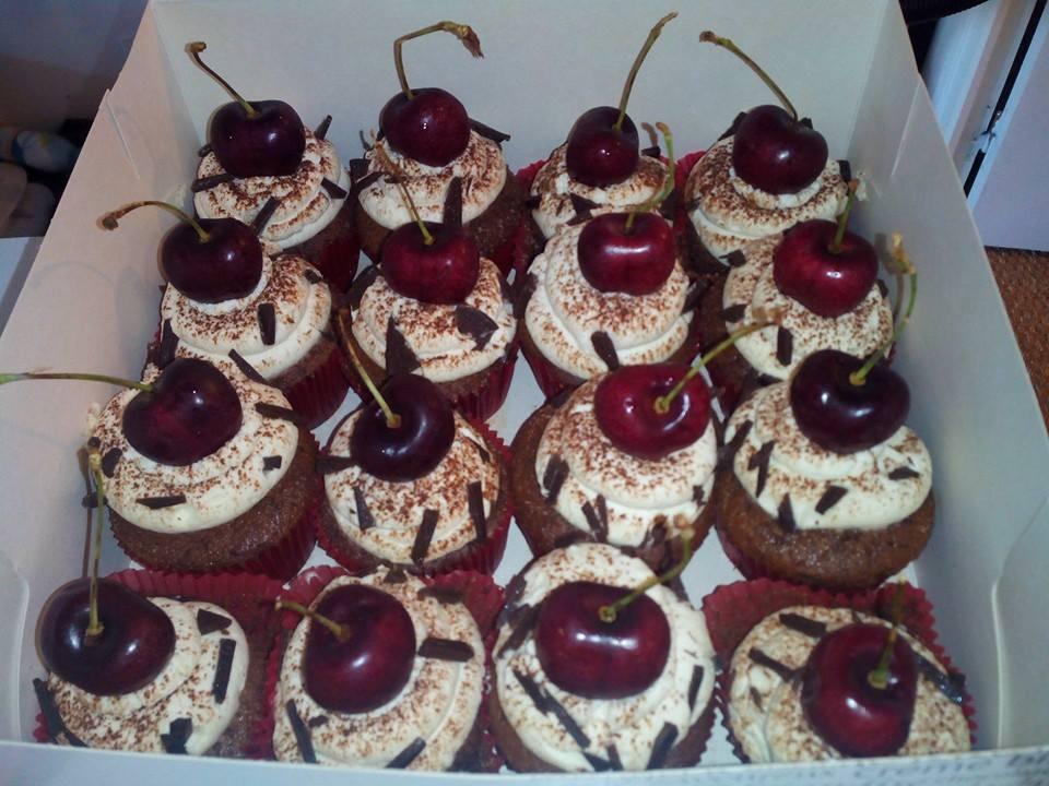 Cupcakes_Forêt_Noire