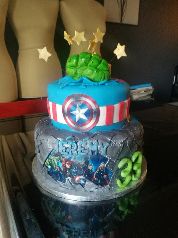 Cake Super Héros