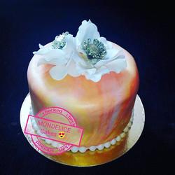 Small Cake multicolor 😍😍🤩🤩 framboise