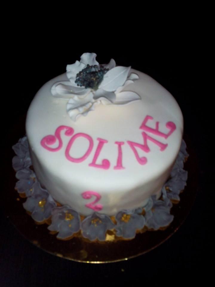 Wedding Cake Blanc & Gris