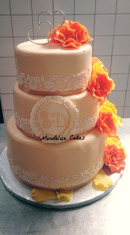 Cake Crème & Dentelle
