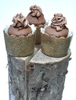 Cupcakes Afro Cacao Chocolat