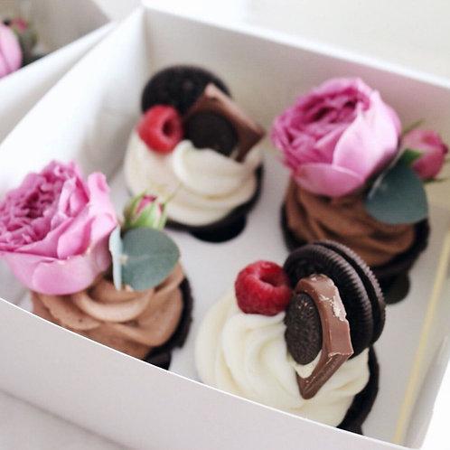 BOX 4 Cupcakes