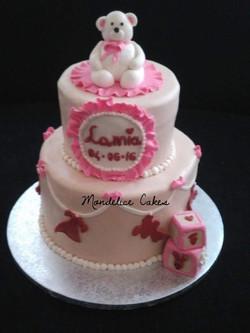 Wedding Cake Bapteme