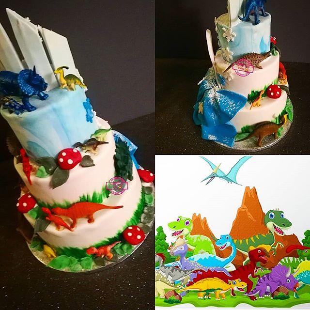 Wedding Cake Dinosaures 🦕🦖🦕🦖_Happppp