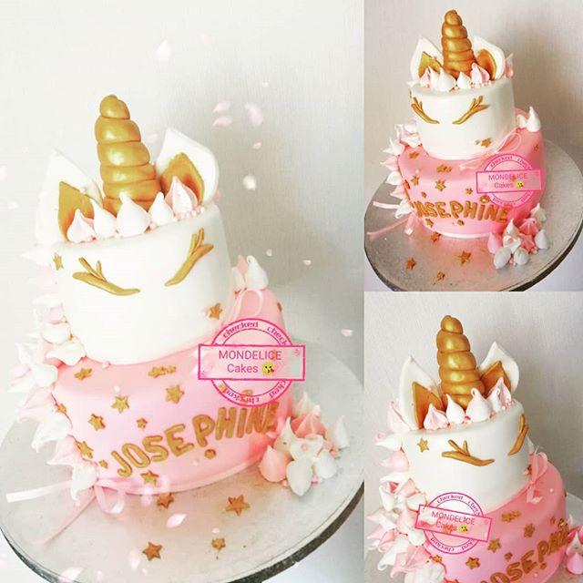 Wedding Cake Unicorn 🦄🦄_Vanille & Choc