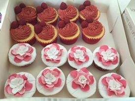 Cupcakes Framboise & Fraise Barba papa