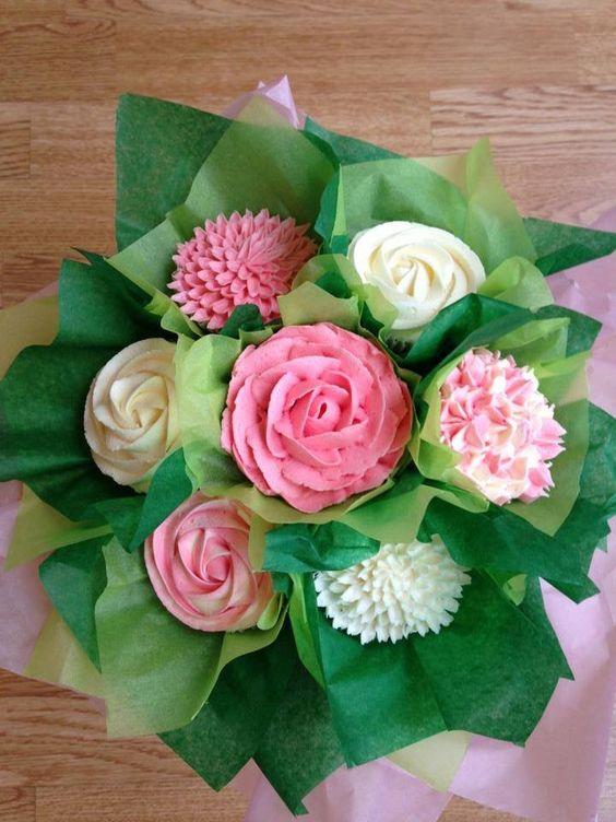 Bouquet cupcakes 3