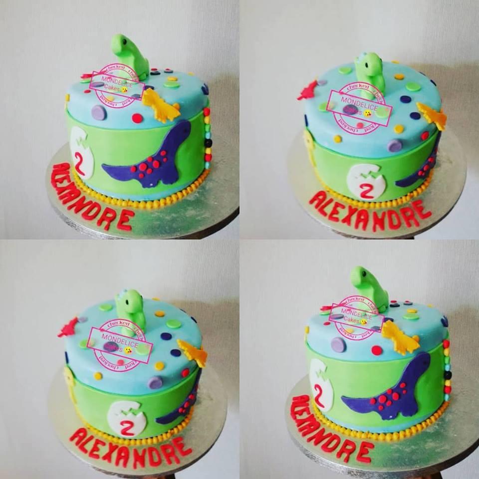 Cake Dinausaure