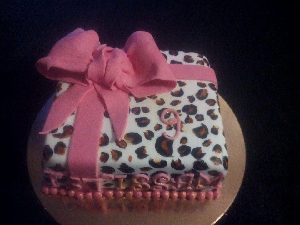 Cake Panthère