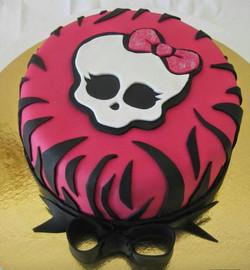 Wedding Cake Monster high Fraise & Fleur de Rose