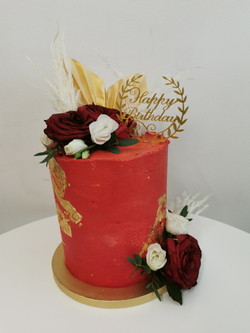 Layer cake red