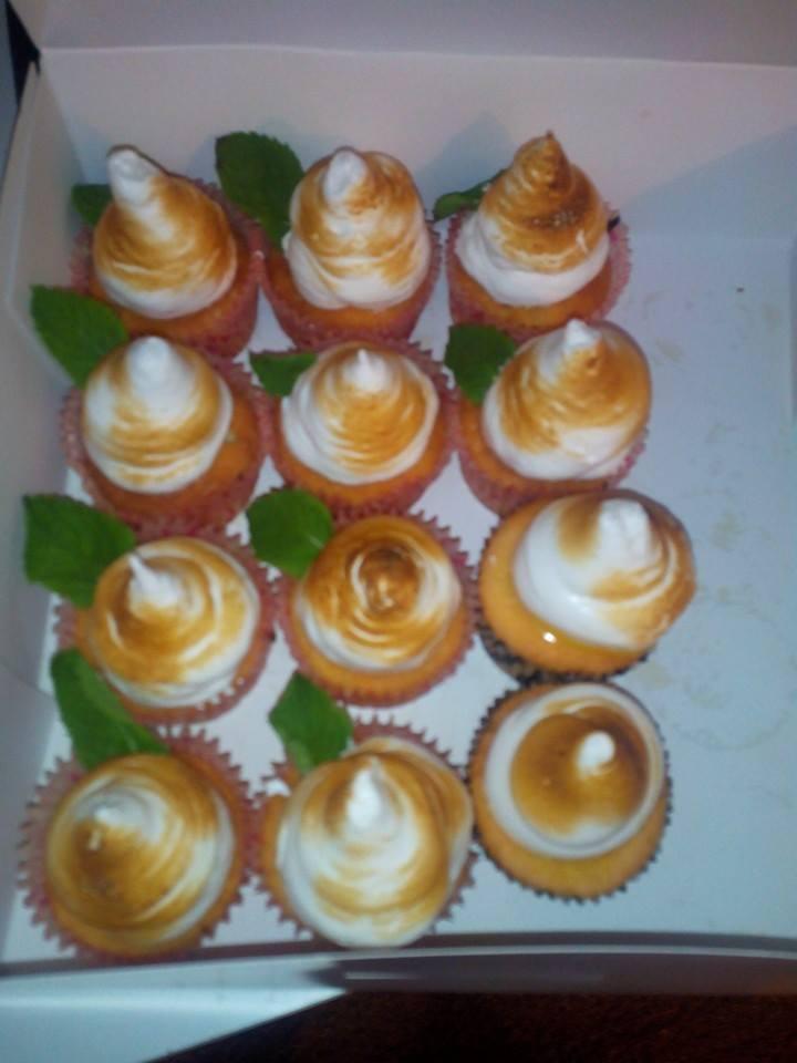 Cupcakes Citron & Menthe