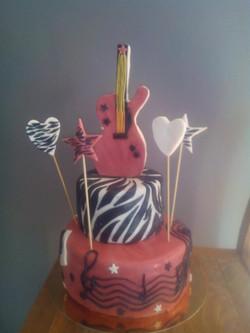 Cake Girl Rock