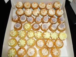 Mignardise Cupcakes Spéculos.. Praliné..Citron.. Caramel Beurre Salé