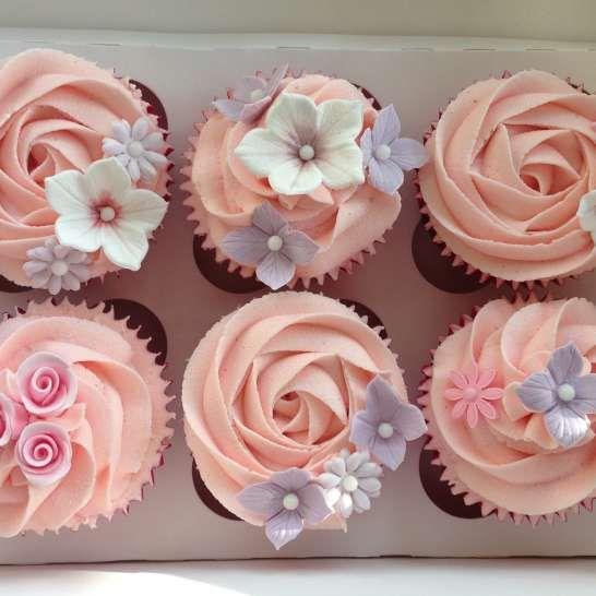 cupcakes fleur